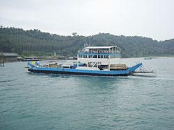 veerpont naar Ko Chang eiland